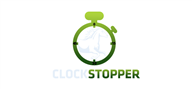Logoinn created this logo for ClockStopper - who are in the Sports Logo Design  Sectors