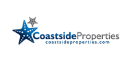 Logoinn created this logo for Coastside Properties - who are in the Real Estate Logo Design  Sectors
