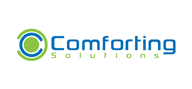 Logoinn created this logo for Comforting Solutions - who are in the Information Technology Logo Design  Sectors