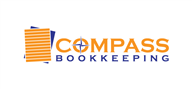 Logoinn created this logo for Compass Bookkeeping - who are in the Accountancy Firm Logo Design  Sectors