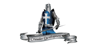 Logoinn created this logo for Crusader Development - who are in the Illustration Logo  Sectors