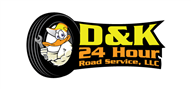 Logoinn created this logo for D&K 24 Hour Road Service, LLC - who are in the Illustration Logo  Sectors