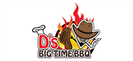 Logoinn created this logo for D's Big Time BBQ - who are in the Restaurants Logo Design  Sectors