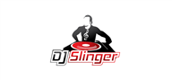 Logoinn created this logo for DJ Slinger - who are in the Entertainment Logo Design  Sectors