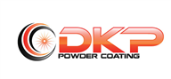 Logoinn created this logo for DKP Powder Coating - who are in the Automotive Logo Design  Sectors