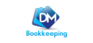 Logoinn created this logo for DM Bookkeeping - who are in the Accountancy Firm Logo Design  Sectors
