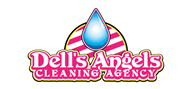 Logoinn created this logo for Dell's Angels Cleaning Agency - who are in the Fun Logo  Sectors