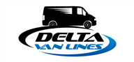 Logoinn created this logo for Delta Van Lines Inc. - who are in the Transportation Logo Design  Sectors