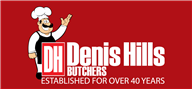 Logoinn created this logo for Denis Hills Butchers - who are in the Illustration Logo  Sectors