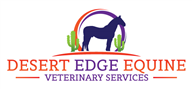 Logoinn created this logo for Desert Edge Equine Veterinary Services - who are in the Veterinary Logo Design  Sectors