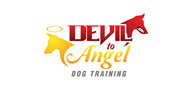 Logoinn created this logo for Devil to Angel Dog Training - who are in the Computer Logo Design  Sectors