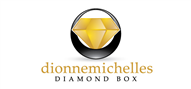 Logoinn created this logo for DionneMichelles Diamond box - who are in the Cosmetics Logo Design  Sectors