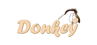 Logoinn created this logo for DonkeyGifts.com - who are in the Toys Logo Design  Sectors