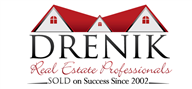Logoinn created this logo for Drenik Real Estate Professionals - who are in the Real Estate Logo Design  Sectors