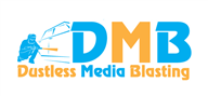 Logoinn created this logo for Dustless Media Blasting, Inc. - who are in the Media Logo Design  Sectors