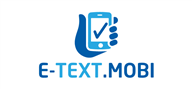 Logoinn created this logo for E-TEXT.MOBI - who are in the Technology Logo  Sectors