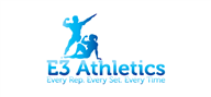 Logoinn created this logo for E3 Athletics - who are in the Physical Training Logo Design  Sectors