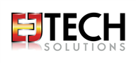 Logoinn created this logo for EJ Tech Solutions LLC - who are in the Networking Logo Design  Sectors