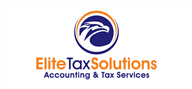 Logoinn created this logo for Elite Tax Solutions - who are in the Accountancy Firm Logo Design  Sectors