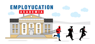 Logoinn created this logo for Employucation LLC - who are in the Education Logo Design  Sectors
