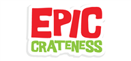 Logoinn created this logo for Epic Crateness - who are in the Games Logo Design  Sectors
