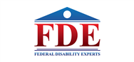 Logoinn created this logo for Federal Disability Experts, LLC - who are in the Law Logo Design  Sectors