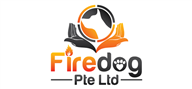 Logoinn created this logo for Firedog Pte Ltd - who are in the Pet Logo Design  Sectors