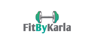 Logoinn created this logo for Fit By Karla - who are in the Weight loss Logo  Sectors