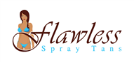 Logoinn created this logo for Flawless Spray Tans - who are in the Salon Logo Design  Sectors