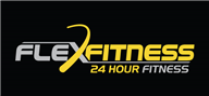 Logoinn created this logo for Flex fitness - who are in the Weight loss Logo  Sectors