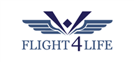 Logoinn created this logo for Flight 4 Life - who are in the HealthCare Logo Design  Sectors