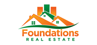 Logoinn created this logo for Foundations Real Estate, LLC. - who are in the Property Logo  Sectors