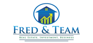 Logoinn created this logo for Fred and Team - who are in the Real Estate Logo Design  Sectors