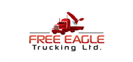 Logoinn created this logo for Free Eagle Trucking Ltd. - who are in the Transportation Logo Design  Sectors