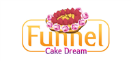Logoinn created this logo for Funnel Cake Dream - who are in the Beverages Logo Design  Sectors