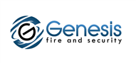 Logoinn created this logo for Genesis fire and security - who are in the Security Services Logo Design  Sectors