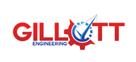 Logoinn created this logo for Gillott Engineering LTD - who are in the Engineering Services Logo Design  Sectors