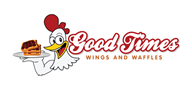 Logoinn created this logo for Good Times Wings and Waffles - who are in the Cafes Logo Design  Sectors