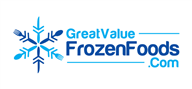 Logoinn created this logo for GreatValueFrozenFoods.com - who are in the Cafes Logo Design  Sectors