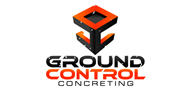 Logoinn created this logo for Ground Control Concreting - who are in the Civil Engineering Logo  Sectors