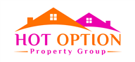 Logoinn created this logo for HOT OPTION Property Group - who are in the Property Logo  Sectors