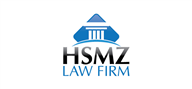 Logoinn created this logo for HSMZ Law Firm - who are in the Law Logo Design  Sectors