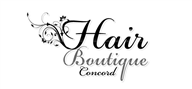 Logoinn created this logo for Hair Boutique Concord - who are in the Hair Logo Design  Sectors