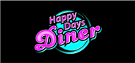 Logoinn created this logo for Happy Days Diner of Roxboro - who are in the Restaurants Logo Design  Sectors