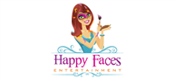 Logoinn created this logo for Happy Faces Entertainment - who are in the Illustration Logo  Sectors