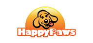 Logoinn created this logo for Happy Paws - who are in the Veterinary Logo Design  Sectors