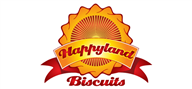 Logoinn created this logo for Happyland Biscuits - who are in the Beverages Logo Design  Sectors
