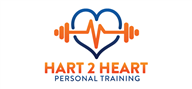 Logoinn created this logo for Hart 2 Heart Personal Training - who are in the Fitness Logo Design  Sectors