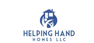 Logoinn created this logo for Helping Hand Homes LLC - who are in the Real Estate Logo Design  Sectors