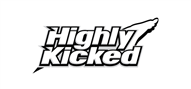 Logoinn created this logo for Highly Kicked - who are in the Fashion Logo Design  Sectors